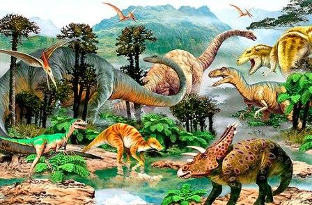 أنواع الديناصورات واسمائها