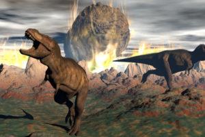 كيف انقرضت الديناصورات