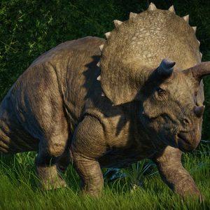 معلومات عن الديناصور ترايسيراتوبس ثلاثي القرون
